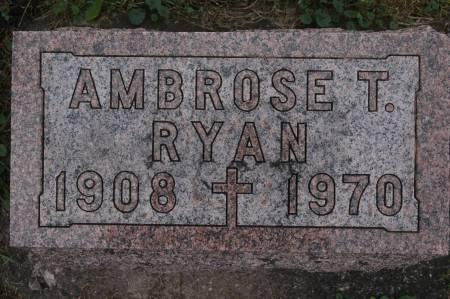 RYAN, AMBROSE T. - Clinton County, Iowa | AMBROSE T. RYAN