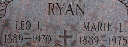 RYAN, MARIE L. - Clinton County, Iowa   MARIE L. RYAN