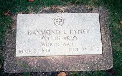 RYNER, RAYMOND L. - Clinton County, Iowa | RAYMOND L. RYNER