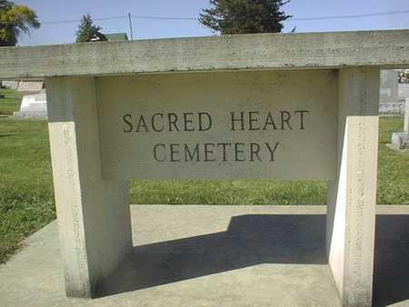 SACRED HEART, CEMETERY - Clinton County, Iowa | CEMETERY SACRED HEART