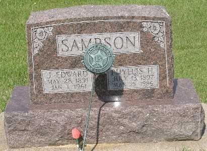 SAMPSON, PHYLLIS H. - Clinton County, Iowa | PHYLLIS H. SAMPSON