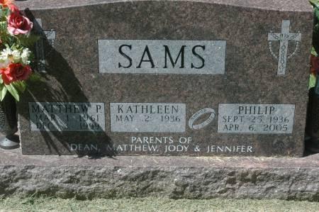 SAMS, KATHLEEN - Clinton County, Iowa   KATHLEEN SAMS