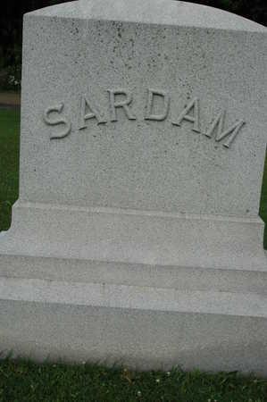 SARDAM, FAMILY MONUMENT - Clinton County, Iowa   FAMILY MONUMENT SARDAM
