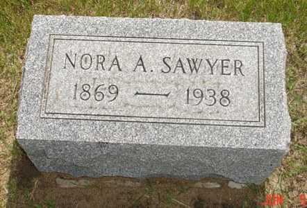 SAWYER, NORA A. - Clinton County, Iowa | NORA A. SAWYER
