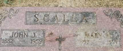 SCALLA, JOHN J. - Clinton County, Iowa | JOHN J. SCALLA