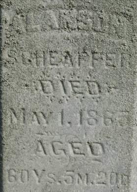 SCHEAFFER, ALANSON - Clinton County, Iowa | ALANSON SCHEAFFER
