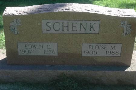 SCHENK, ELOISE M. - Clinton County, Iowa | ELOISE M. SCHENK