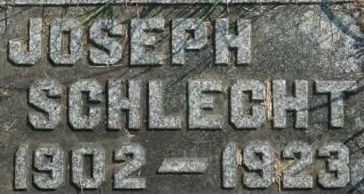 SCHLECHT, JOSEPH - Clinton County, Iowa | JOSEPH SCHLECHT
