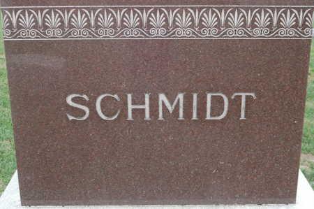 SCHMIDT, FAMILY MONUMENT - Clinton County, Iowa | FAMILY MONUMENT SCHMIDT