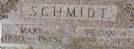 SCHMIDT, WILLIAM M. - Clinton County, Iowa | WILLIAM M. SCHMIDT
