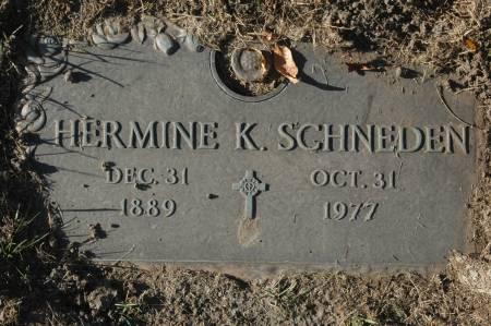 SCHNEDEN, HERMINE K. - Clinton County, Iowa | HERMINE K. SCHNEDEN