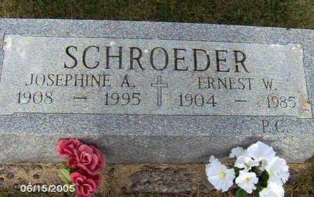 SCHROEDER, ERNEST W - Clinton County, Iowa | ERNEST W SCHROEDER