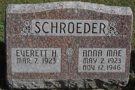 SCHROEDER, EVERETT H. - Clinton County, Iowa | EVERETT H. SCHROEDER