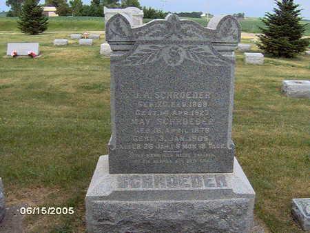 SCHROEDER, J.A - Clinton County, Iowa | J.A SCHROEDER