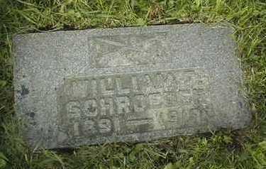 SCHROEDER, WILLIAM F. - Clinton County, Iowa   WILLIAM F. SCHROEDER