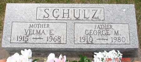 SCHULZ, GEORGE M. - Clinton County, Iowa | GEORGE M. SCHULZ