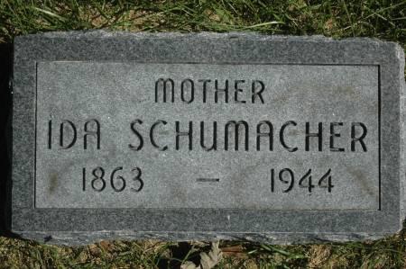 SCHUMACHER, IDA - Clinton County, Iowa   IDA SCHUMACHER