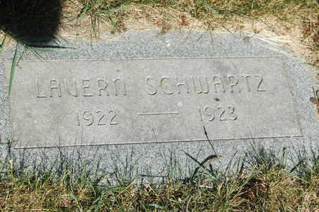 SCHWARTZ, LAVERN - Clinton County, Iowa   LAVERN SCHWARTZ