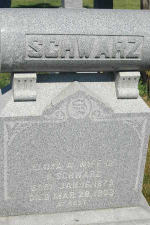 SCHWARZ, EMMA A. - Clinton County, Iowa | EMMA A. SCHWARZ