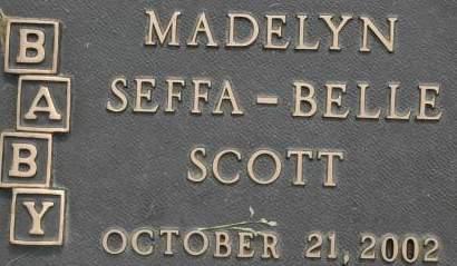 SCOTT, MADELYN SEFFA - Clinton County, Iowa | MADELYN SEFFA SCOTT