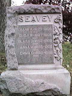 SEAVEY, ANNA - Clinton County, Iowa | ANNA SEAVEY