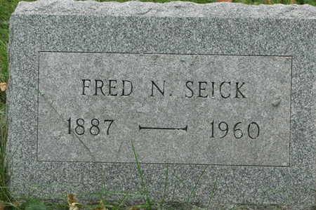 SEICK, FRED N. - Clinton County, Iowa | FRED N. SEICK