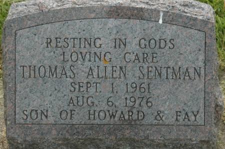 SENTMAN, THOMAS ALLEN - Clinton County, Iowa | THOMAS ALLEN SENTMAN