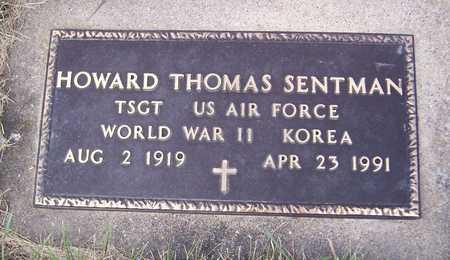 SENTMAN, WARD THOMAS - Clinton County, Iowa | WARD THOMAS SENTMAN