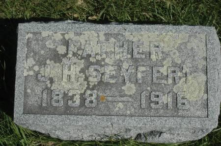 SEYFERT, J.H. - Clinton County, Iowa | J.H. SEYFERT