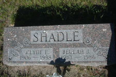 SHADLE, BEULAH J. - Clinton County, Iowa   BEULAH J. SHADLE