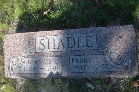 SHADLE, BERNICE L. - Clinton County, Iowa   BERNICE L. SHADLE
