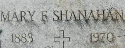 SHANAHAN, MARY F. - Clinton County, Iowa | MARY F. SHANAHAN