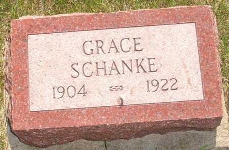 SHANKE, GRACE - Clinton County, Iowa   GRACE SHANKE