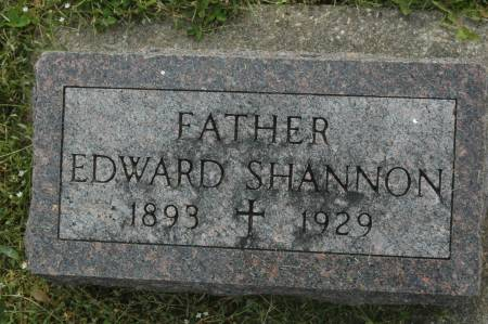 SHANNON, EDWARD - Clinton County, Iowa | EDWARD SHANNON
