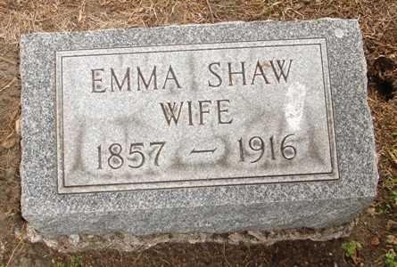 PEARSON SHAW, EMMA - Clinton County, Iowa | EMMA PEARSON SHAW