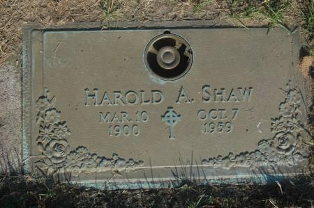 SHAW, HAROLD A. - Clinton County, Iowa | HAROLD A. SHAW