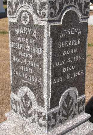 SHEARER, MARY A. - Clinton County, Iowa | MARY A. SHEARER