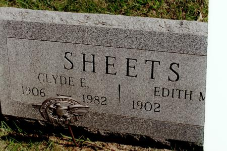 SHEETS, CLYDE E. - Clinton County, Iowa | CLYDE E. SHEETS
