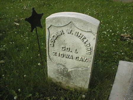 SHELDON, OSCAR W. - Clinton County, Iowa   OSCAR W. SHELDON