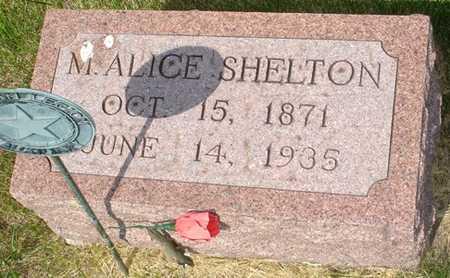 SHELTON, M. ALICE - Clinton County, Iowa | M. ALICE SHELTON