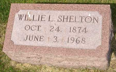 SHELTON, WILLIE L. - Clinton County, Iowa | WILLIE L. SHELTON