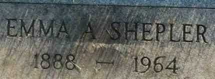 SHEPLER, EMMA A. - Clinton County, Iowa | EMMA A. SHEPLER