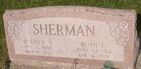 SHERMAN, RUTH - Clinton County, Iowa | RUTH SHERMAN