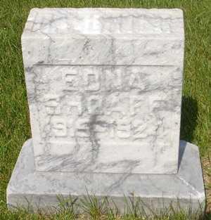 SHOAFF, EDNA - Clinton County, Iowa | EDNA SHOAFF