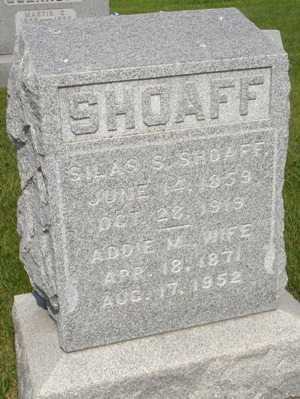 SHOAFF, SILAS F. - Clinton County, Iowa | SILAS F. SHOAFF