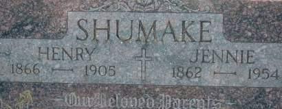 SHUMAKE, JENNIE - Clinton County, Iowa | JENNIE SHUMAKE