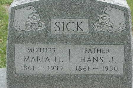 LUTZEN SICK, MARIA HELENA - Clinton County, Iowa | MARIA HELENA LUTZEN SICK