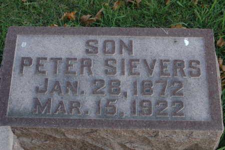 SIEVERS, PETER - Clinton County, Iowa | PETER SIEVERS