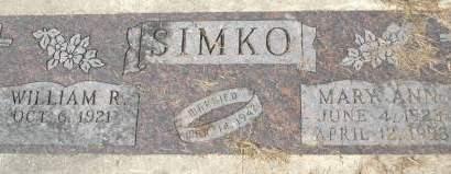SIMKO, MARY ANN - Clinton County, Iowa | MARY ANN SIMKO