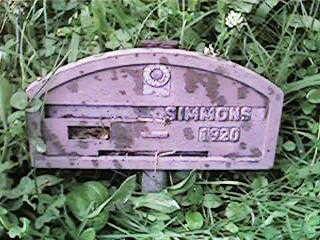 SIMMONS, NONE - Clinton County, Iowa | NONE SIMMONS